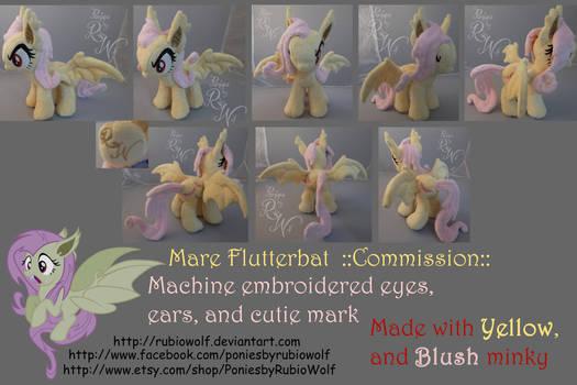 MLP Flutterbat ::Commission:: 10 inch mare