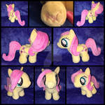 MLP 7in Filly Fluttershy Plushie - BronyCon 2016