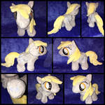 MLP 7in Filly Derpy Plushie - BronyCon 2016