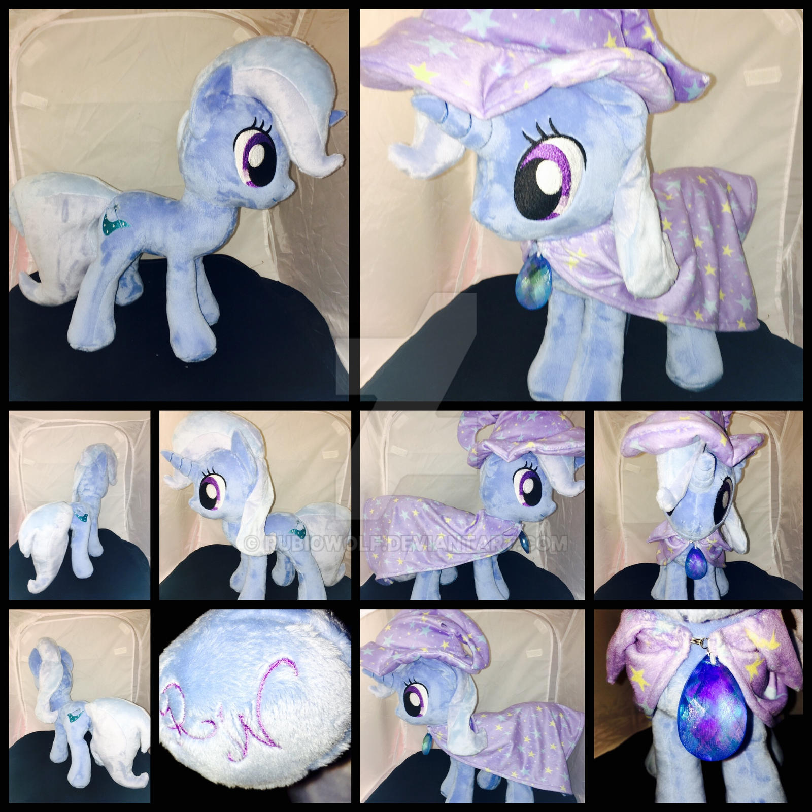 MLP 13in Trixie w/ Hat+Cloak Plush ::Commission:: by RubioWolf