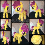MLP 13 inch Dizzy Twister Plushie .:Commission:.