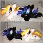 MLP 6in mini Daybreaker and NMM beanie set :Comm: