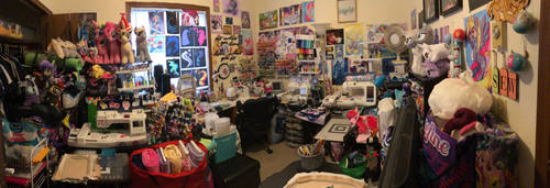 RubioWolf's Sewing Room as of 11/11/18 by RubioWolf