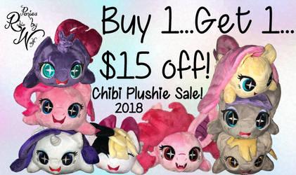 Chibi Plushie Sale 2018 by RubioWolf