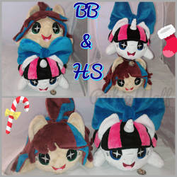MLP Chibi Companion Plushies BB and HS .:Comm:. by RubioWolf