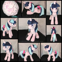 10in floppy-style MLP OC Unicorn Plushie :Comm: