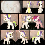 MLP 10 inch Filly 'Coconut Creme' :.Commission.: by RubioWolf