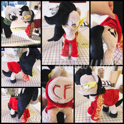 MLP 13 inch Ponyfied Cinder RWBY Plushie {Comm}
