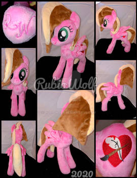 MLP 13 inch OC 'Soul Writer' Plushie :Commission: