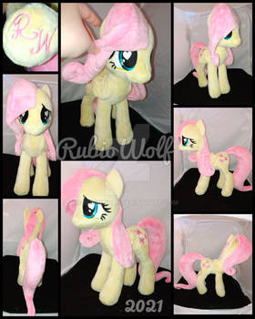 MLP 13 inch Fluttershy Plushie .:Commission:.