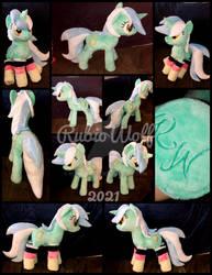 {FOR SALE} MLP 23 inch Lyra Heartstrings Plushie