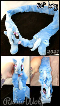 MLP Happy Trixie Magnetic Plushie Scarf