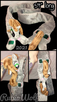 MLP Happy Little Pip Magnetic Plushie Scarf