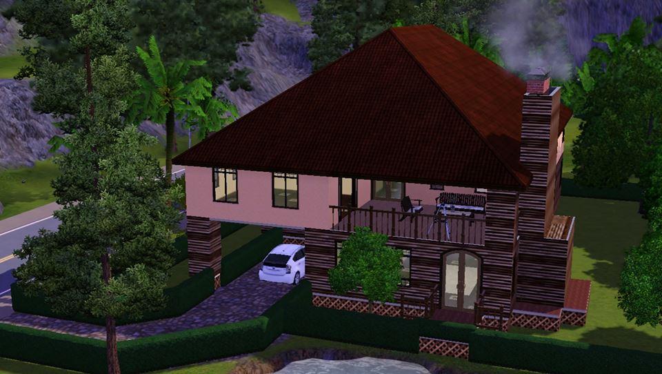 My sims 3 modern house
