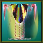 Dance of the silk komono