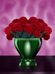 carnation bouquet  virtual