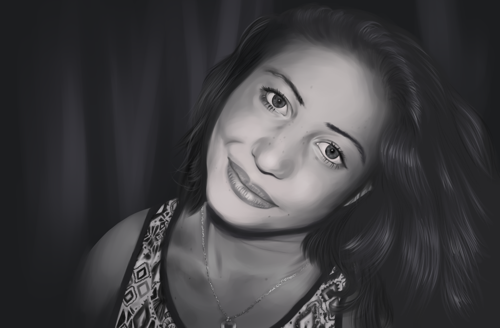 Don't worry about the KroKroDeal Digital_portrait_of_my_sister__drawing__by_krokrodeal-d99hg2j