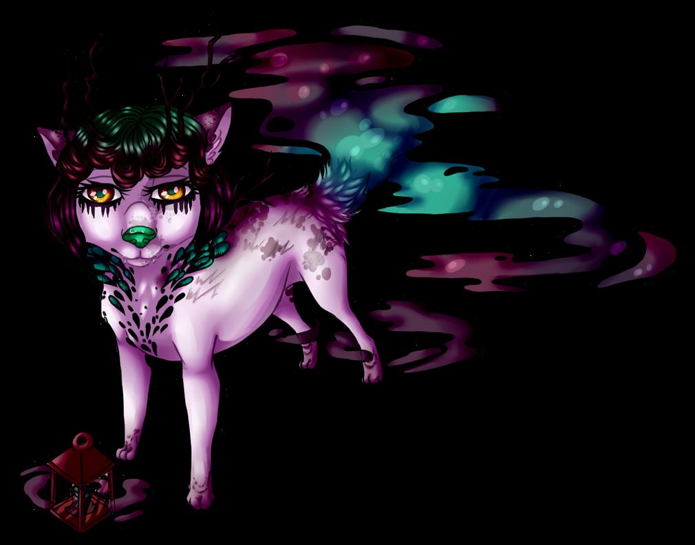 Jenn | Une louve qui a du chien  Jenn_runed_f_by_krokrodeal-d9yvjle