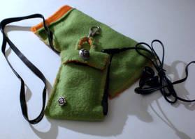 MP3 Player Pouch by Ariyenne