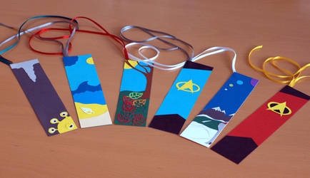 Crafty Sunday: Bookmarks by Ariyenne