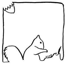 Squirrel-Box Nr. 1 by Ariyenne