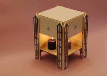 Table Fireplace 3.0 by Ariyenne