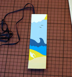 Summer Holiday Bookmark