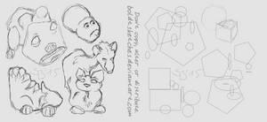 Practice: Geometric Animals