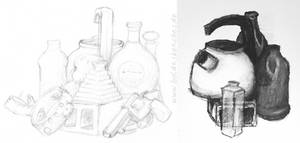 Drawing Course I: A very special still life by boldtSketches