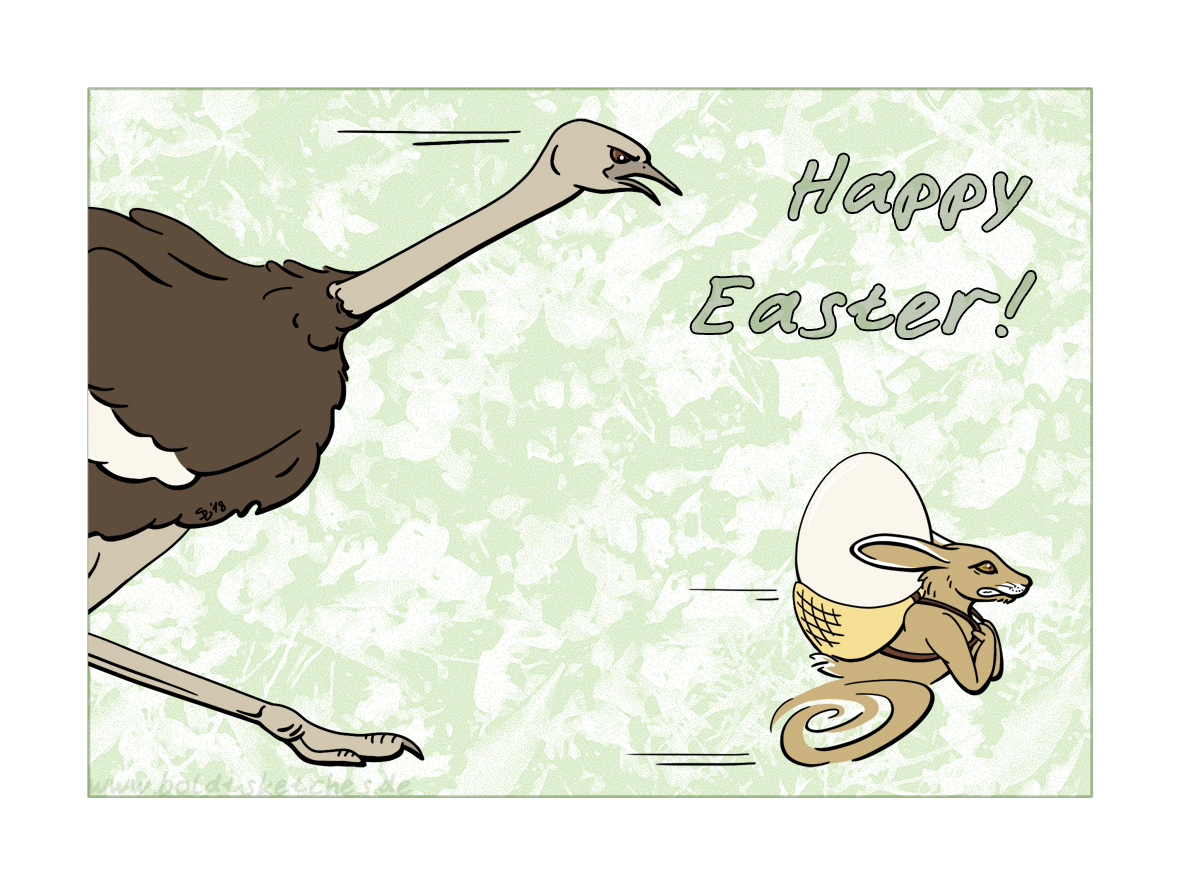 Happy Easter! by boldtSketches