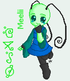 Meelii Pixel Doll by LorTheZeldaNerd