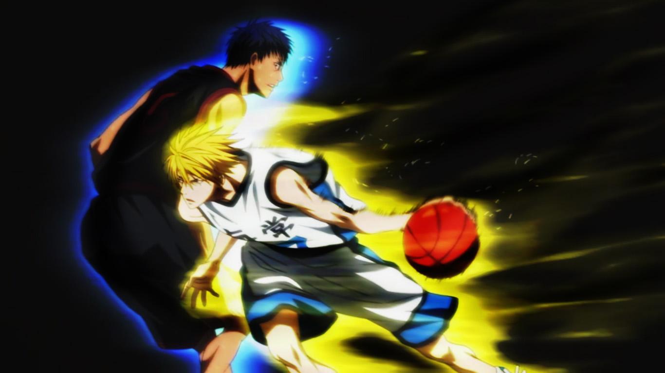 kise vs aomine wallpaper 1366x768 kuroko no basket by