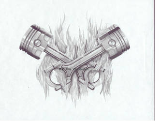 Piston tattoo by BSH33