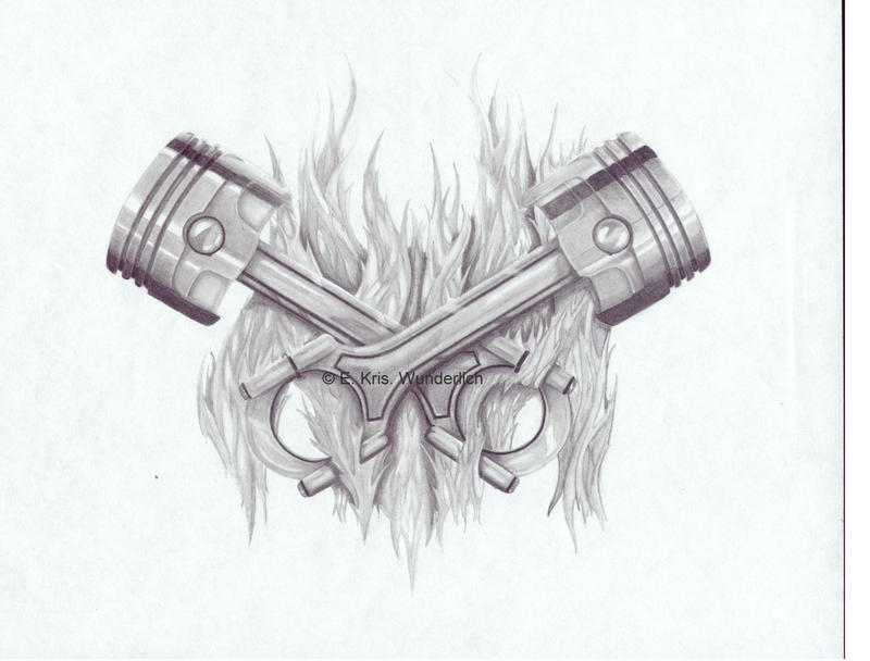 Piston tattoo by ~BSH33 on deviantART