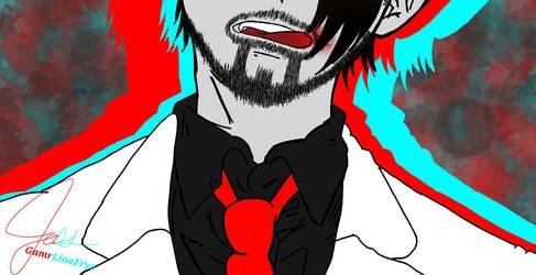 Tongue n White Tux - Darkiplier