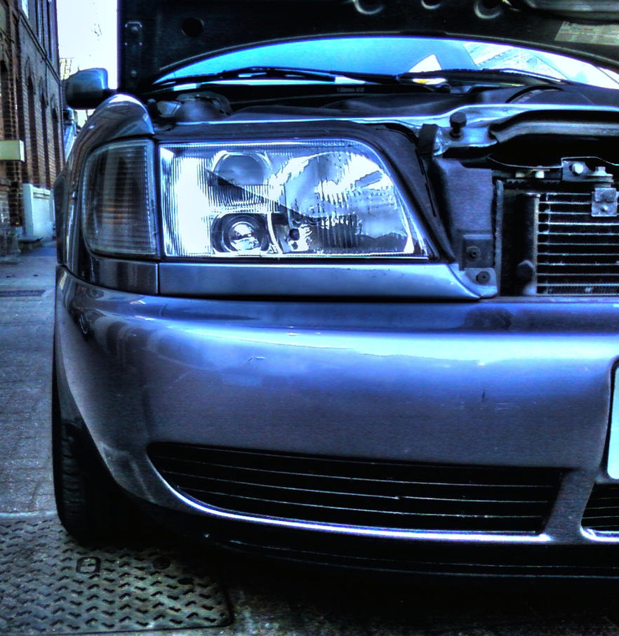 audi a6 2 5 tdi headlight by rom1gto on deviantart. Black Bedroom Furniture Sets. Home Design Ideas