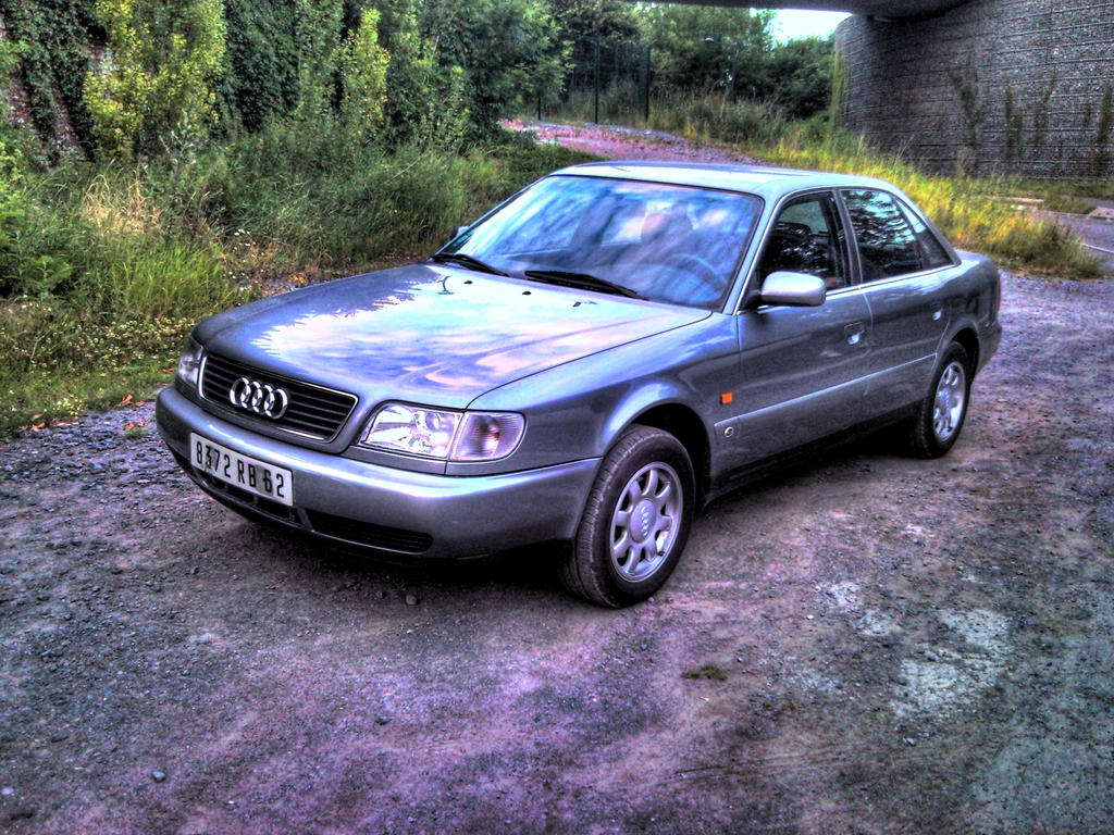 audi a6 2 5 tdi hdr 2 by rom1gto on deviantart. Black Bedroom Furniture Sets. Home Design Ideas