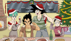 Merry Christmas - Dragon Ball