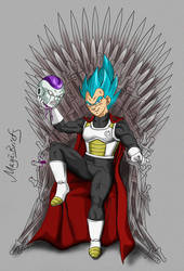 Vegeta - Game of Thrones by mayabriefs