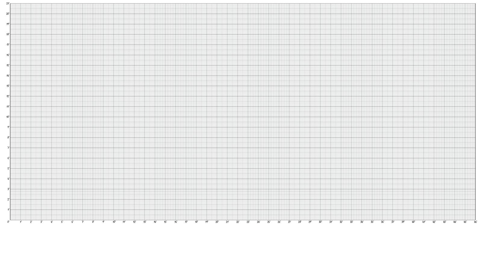 height chart blank