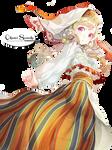 [Render] #5 Render National costume Anime Girl