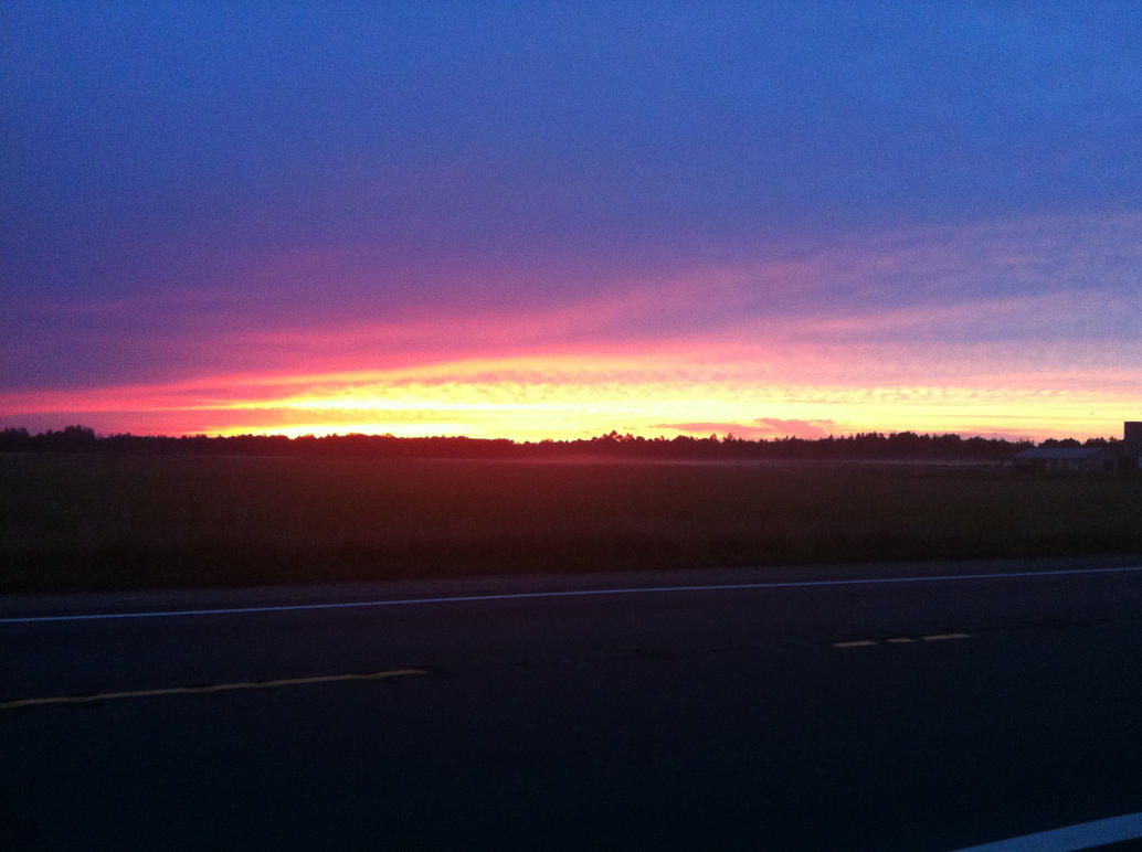Sunset 9/5/2014 by dcrods