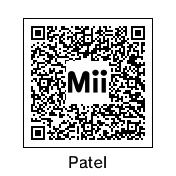 Mii QR Codes: Matthew Patel by MermaidloverTyler