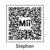 Mii QR Codes: Stephen  Stills by MermaidloverTyler