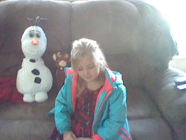My cousin at Christmastime! by MermaidloverTyler