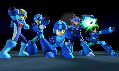 Every Mega Man all at once! by MermaidloverTyler