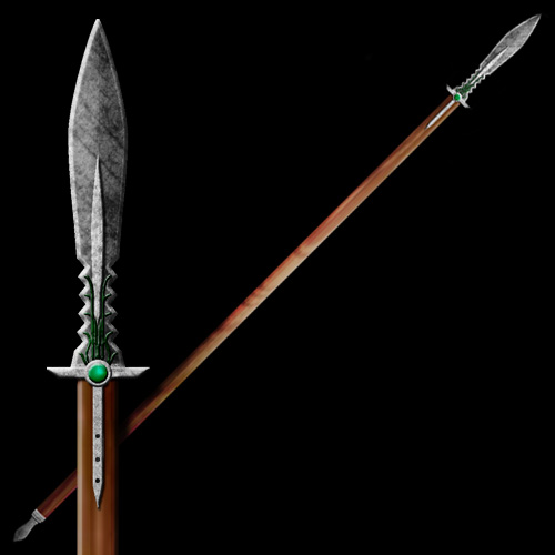 Spear by MuzAshen