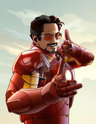 I Am Iron Man by CarlPearce