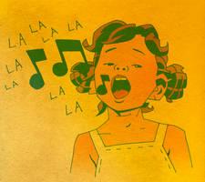 LA LA LA LA LA by CarlPearce