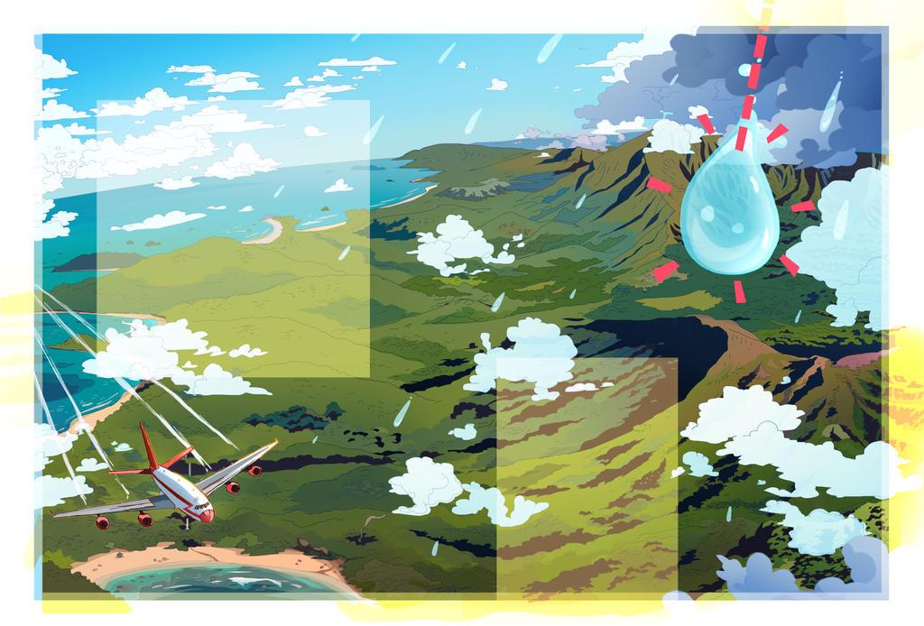 A Raindrop's Trip by CarlPearce
